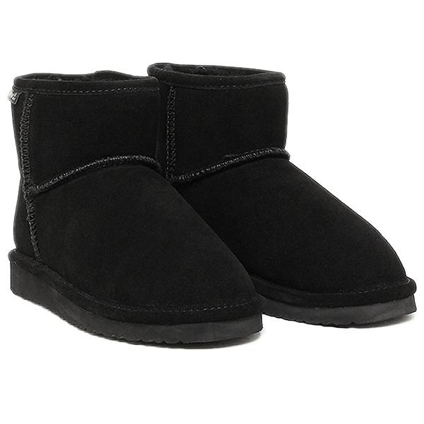 Bearpaw ベアパウ ムートンブーツ 619LW DEMI シープスキンブーツ BLACK
