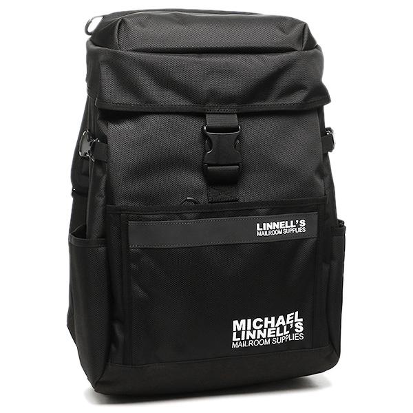 マイケルリンネル MICHAEL LINNELL リュック ML-016 約27L ブラック