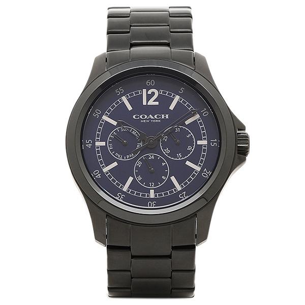 COACH コーチ 腕時計 レディース アウトレット W5021 NAV ネイビー/シルバー