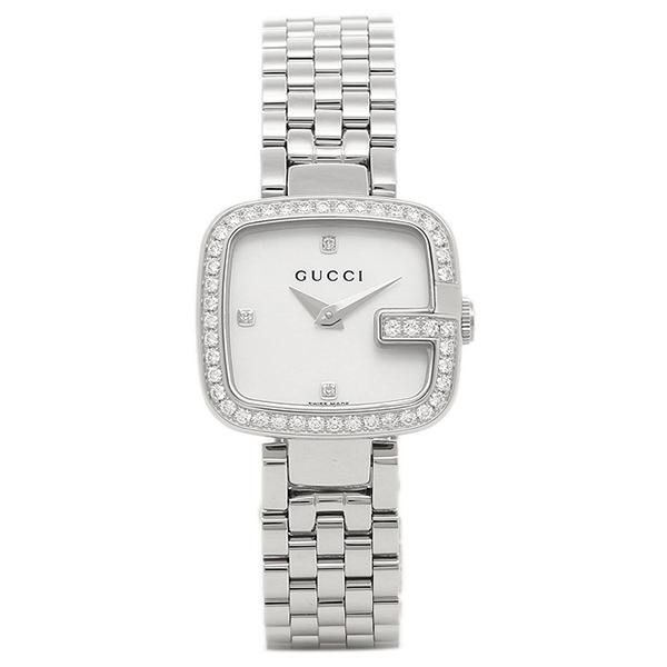 グッチ レディース 腕時計 GUCCI YA125519 ホワイト シルバー