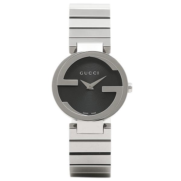 グッチ レディース 腕時計 GUCCI YA133511 ブラック シルバー