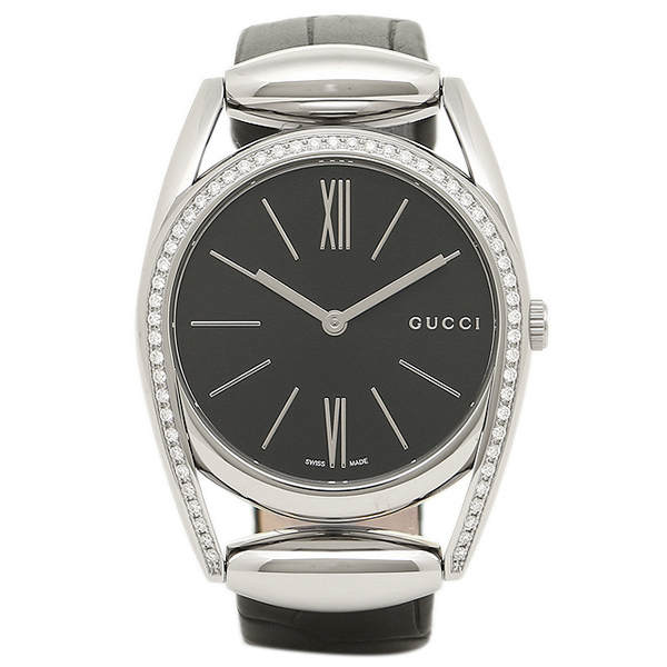 グッチ レディース 腕時計 GUCCI YA139403 ブラック シルバー