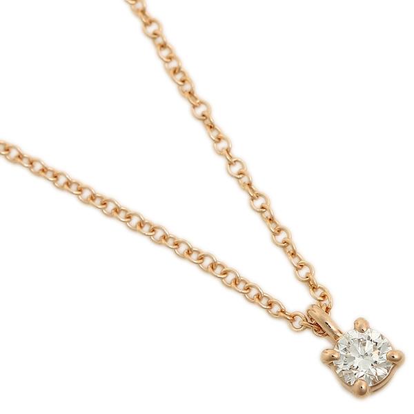 TIFFANY&Co. ネックレス アクセサリー レディース ティファニー 30420837 18K ソリティア ダイヤモンド ペンダント ピンクゴールド