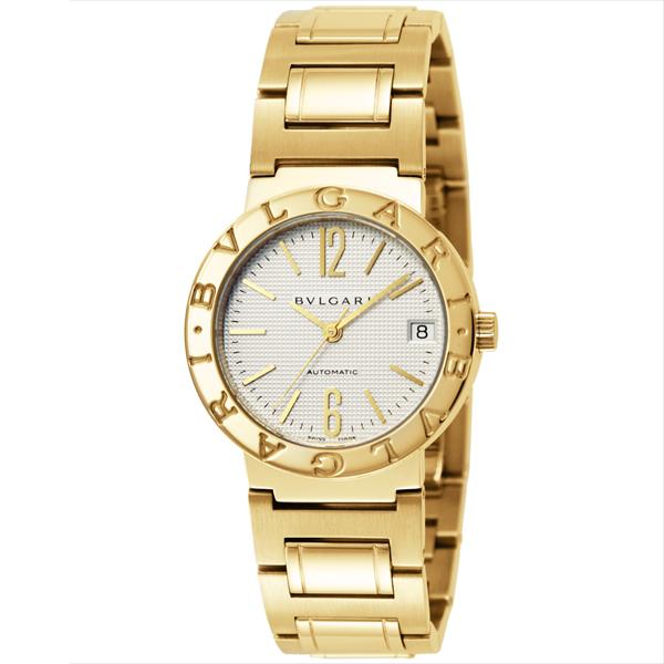 Bvlgari Watches mens BB33WGGDAUTO BVLGARI Bulgari Bulgari automatic winding watch Watch Gold / White