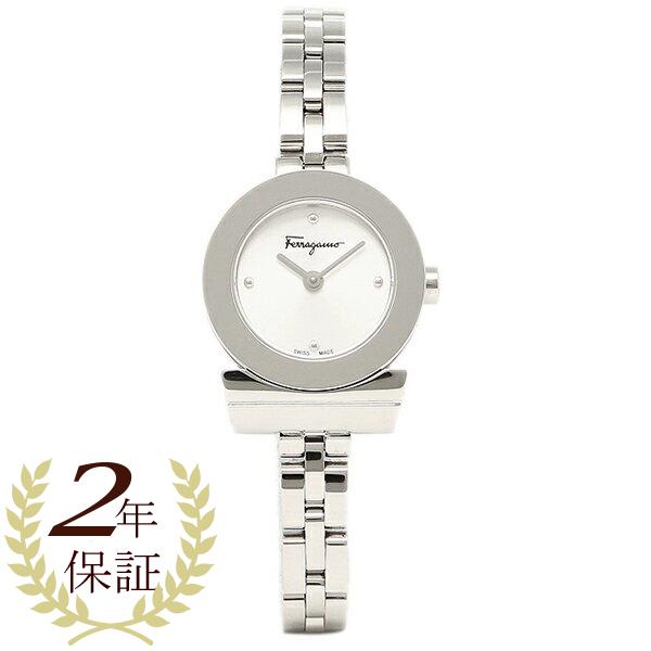 フェラガモ 腕時計 レディース Salvatore Ferragamo FBF010016 ホワイト シルバー