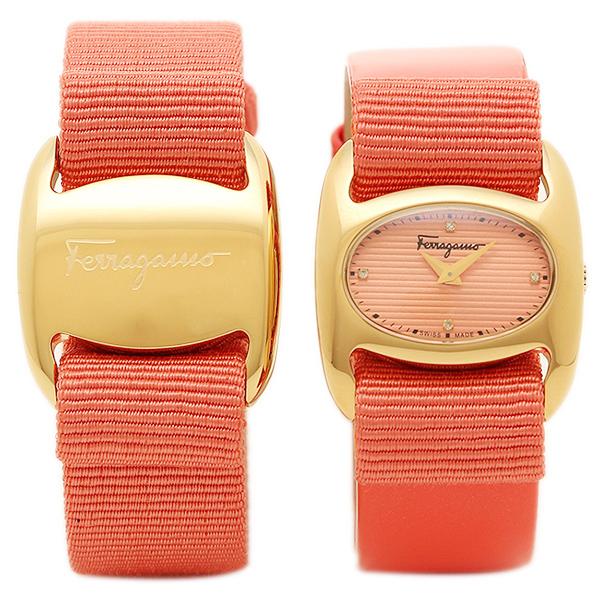 Ferragamo 腕時計 レディース サルヴァトーレフェラガモ FIE020015 ピンク ゴールド