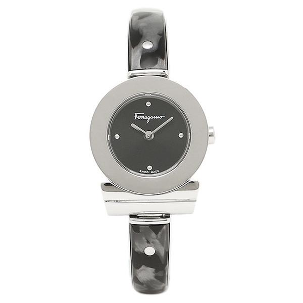 フェラガモ 腕時計 レディース Salvatore Ferragamo FII010015 ブラック シルバー