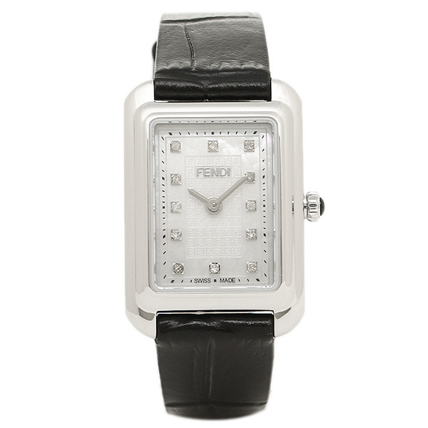 FENDI 腕時計 レディース フェンディ F702024511D1 ホワイト/ブラック