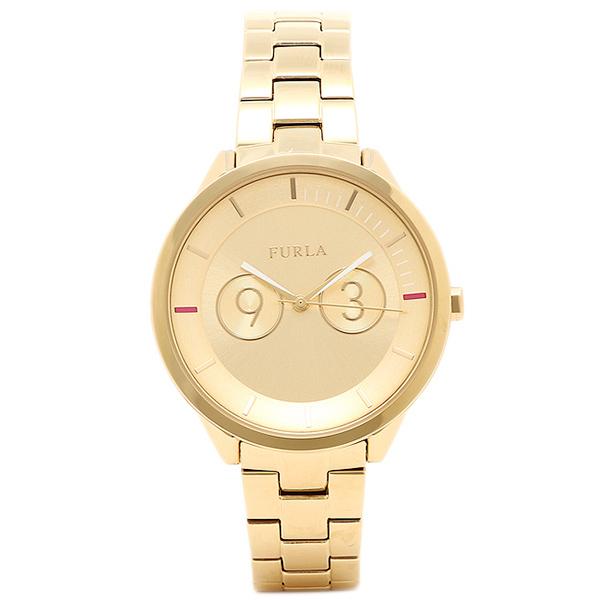 フルラ 腕時計 レディース FURLA R4253102504 イエローゴールド