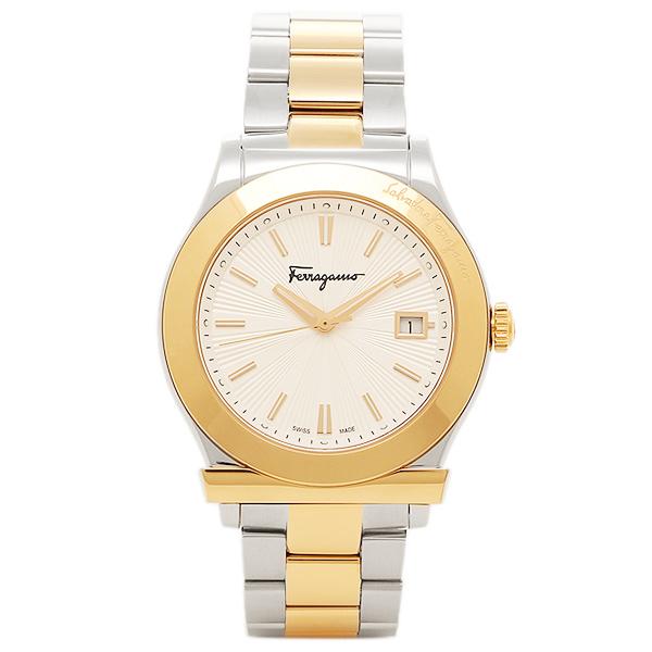 フェラガモ 腕時計 レディース Salvatore Ferragamo FF3070014 シルバー ゴールド