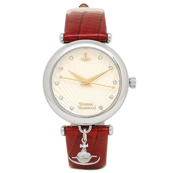 ヴィヴィアンウエストウッド 時計 レディース VIVIENNE WESTWOOD VV108WHRD TRAFALGAR 腕時計 ウォッチ ホワイト/レッド