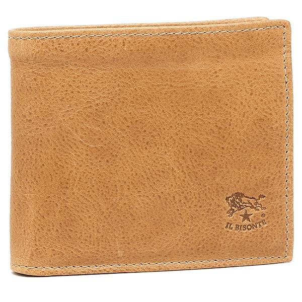 IL BISONTE メンズ 折り財布 イルビゾンテ C0487/M ぺトラ