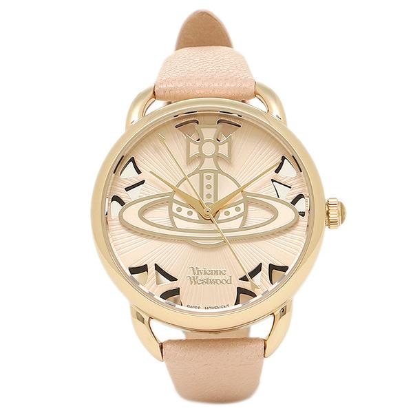 VIVIENNE WESTWOOD ヴィヴィアンウエストウッド レディース腕時計 VV163BGPK ベージュ ゴールド ピンク