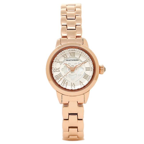 GIULIETTAVERONA 腕時計 ジュリエッタヴェローナ GV003PSI シルバー ピンクゴールド