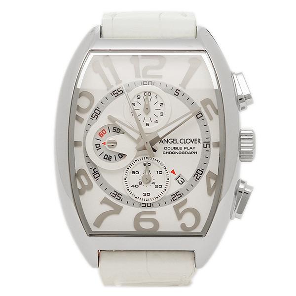 エンジェルクローバー 腕時計 ANGEL CLOVER DP38SWH-WHN ホワイト シルバー ホワイト