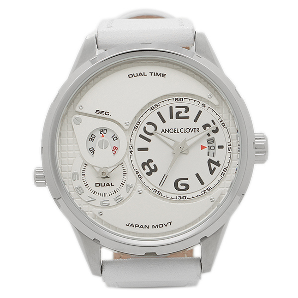 エンジェルクローバー 腕時計 ANGEL CLOVER DU47SWH-WH ホワイト シルバー ホワイト