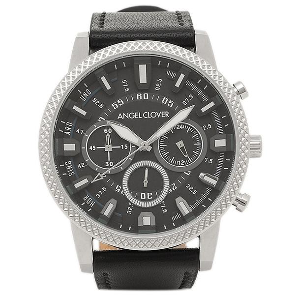 エンジェルクローバー 腕時計 ANGEL CLOVER RD44SBK-BK ブラック シルバー ブラック