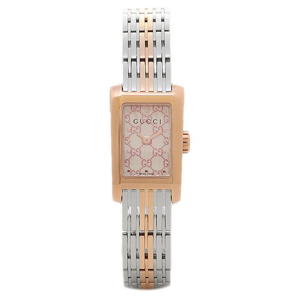 GUCCI 腕時計 レディース グッチ YA086515 ピンクシェル シルバー ローズゴールド