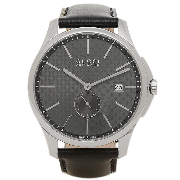 GUCCI 腕時計 レディース グッチ YA126319 ネイビー シルバー ブラック