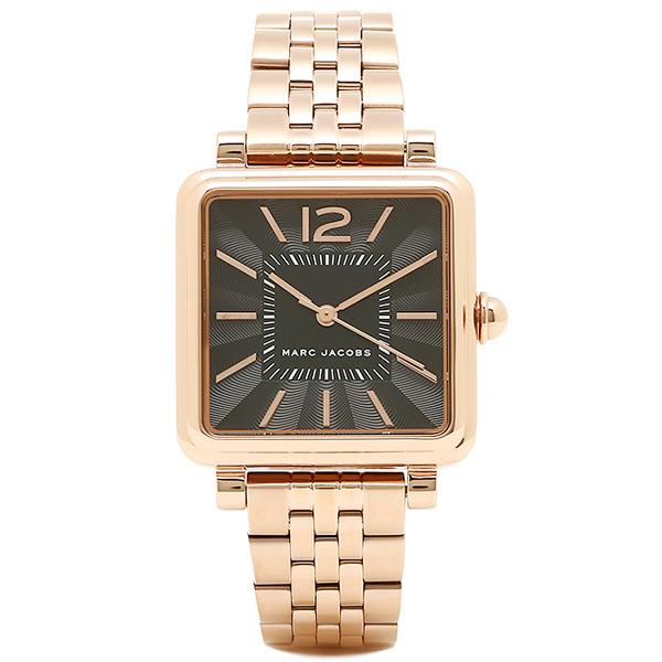 マークジェイコブス 腕時計 レディース MARC JACOBS MJ3517 ローズゴールド ブラック