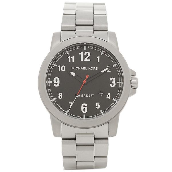 MICHAEL KORS マイケルコース 腕時計 レディース MK8500 ブラック シルバ-