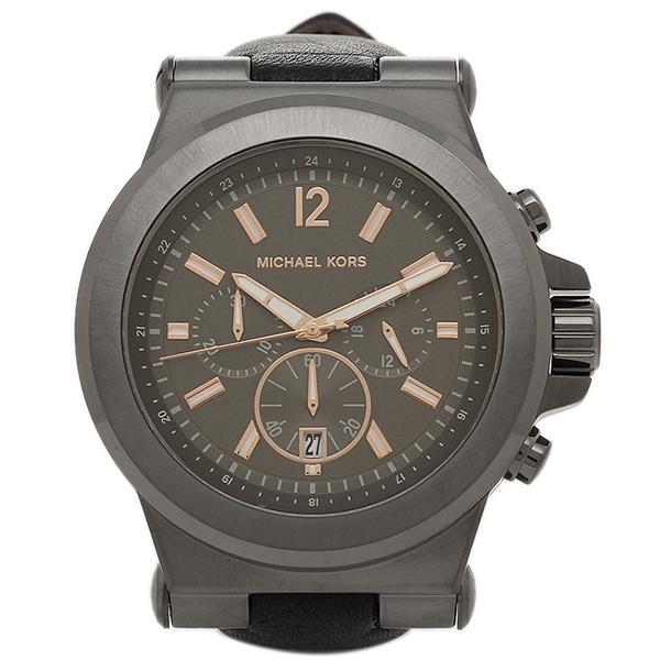 MICHAEL KORS マイケルコース 腕時計 レディース MK8511 グレ- ブラック