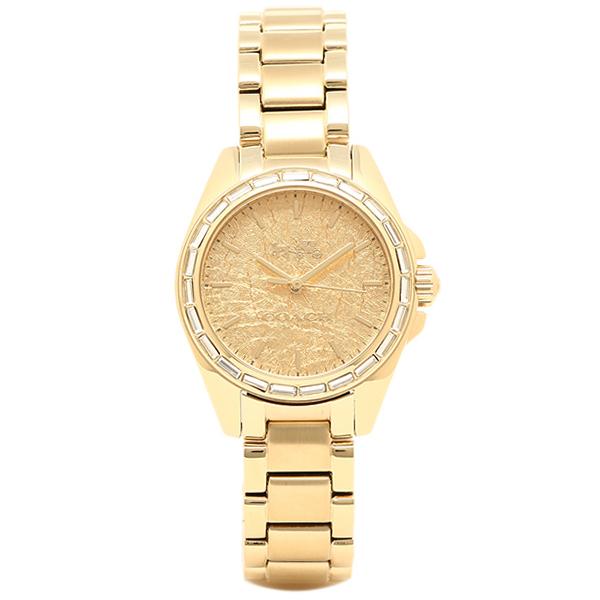 COACH コーチ 腕時計 レディース 14502460 イエローゴールド