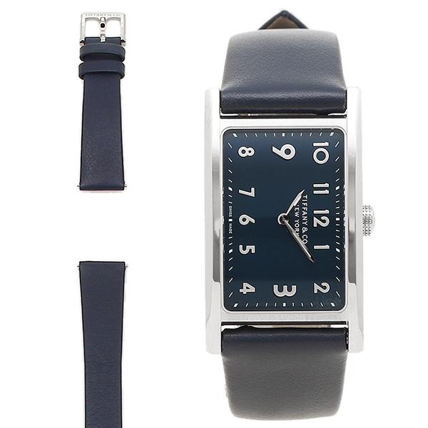 TIFFANY&Co. 腕時計 ティファニー 36668644 ブラック シルバー ブルー