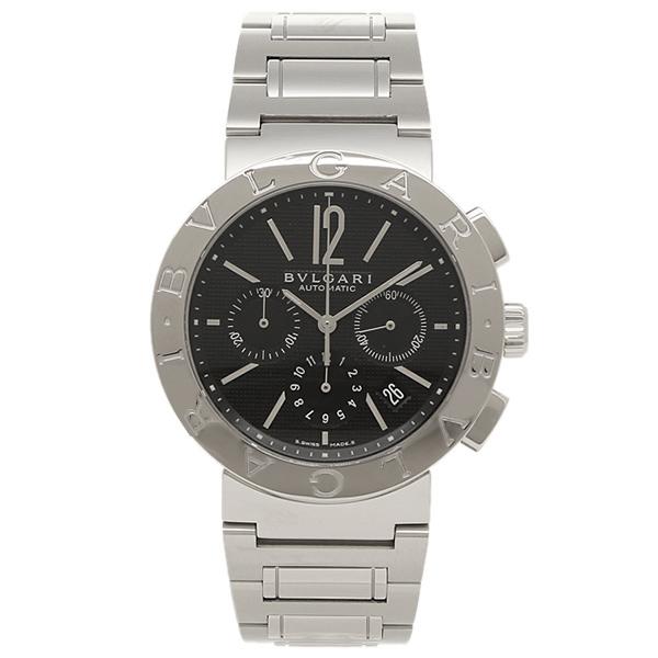 ブルガリ 時計 メンズ BVLGARI BB42BSSDCH 腕時計 ウォッチ 予約販売品 ブラック ブルガリブルガリ シルバー 大人気!