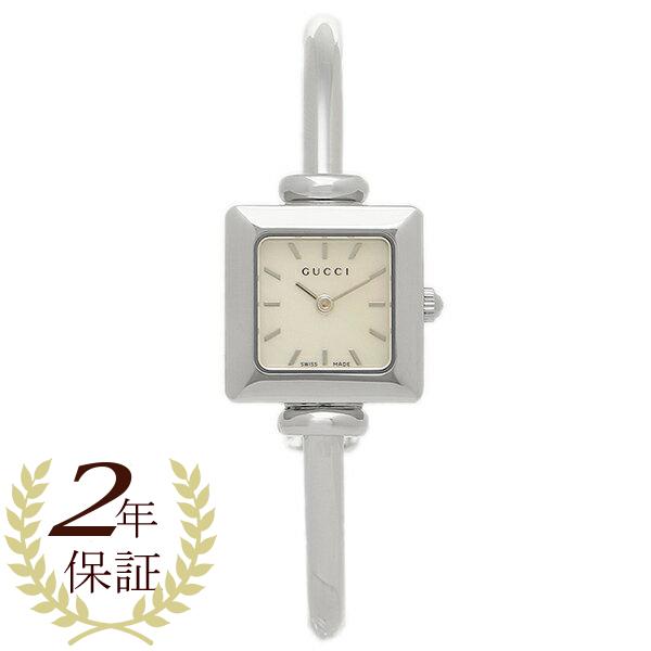 グッチ 腕時計 YA019518 1900シリーズ ホワイトパール/シルバー レディースウォッチ