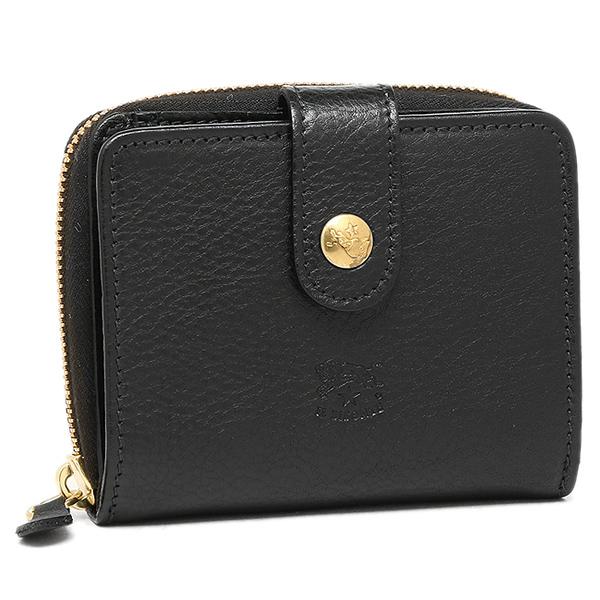 イルビゾンテ 折り財布 レディース IL BISONTE C0960 P 153 ブラック