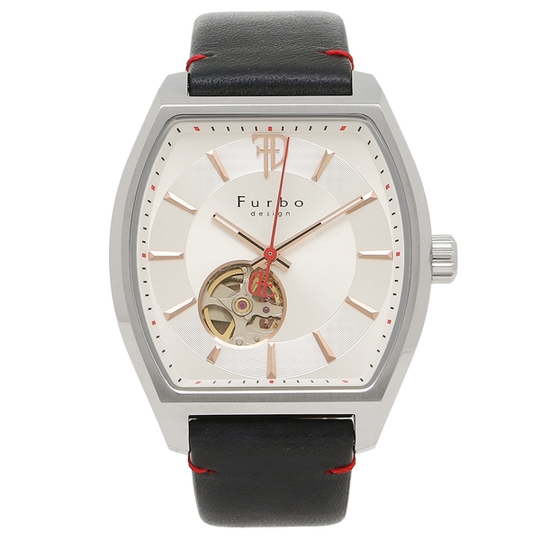 Furbo design 腕時計 メンズ フルボデザイン F8201SSINV シルバー ネイビー