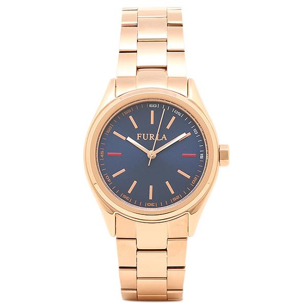FURLA 腕時計 レディース フルラ R4253101501 866583 ローズゴールド/ブルー