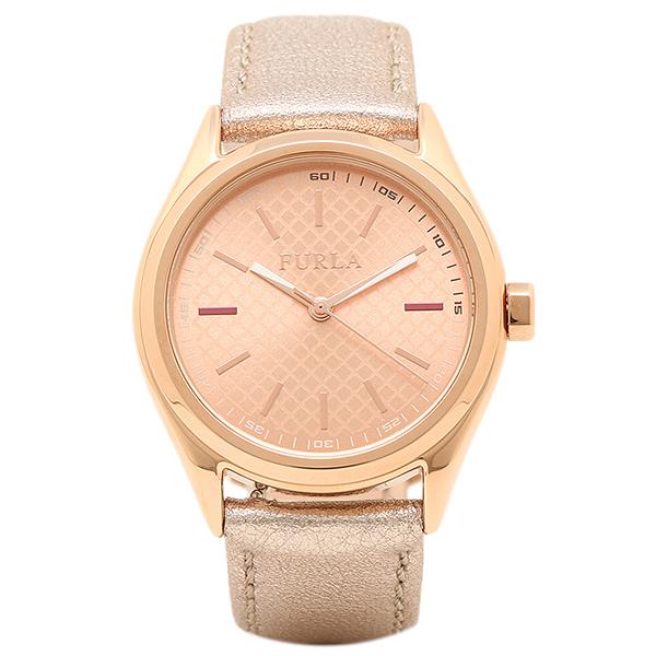 FURLA 腕時計 レディース フルラ R4251101502 866598 イエローゴールド/メタリックローズ