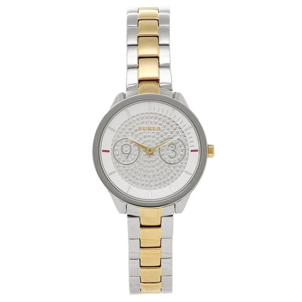 FURLA 腕時計 レディース フルラ R4253102517 866639 シルバー/イエローゴールド