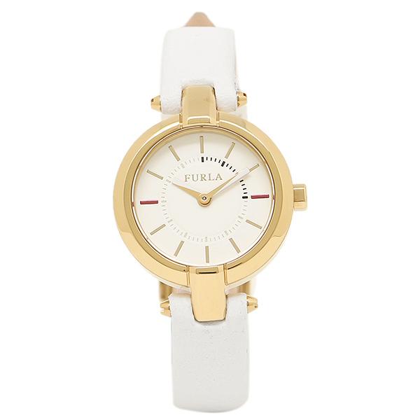FURLA 腕時計 レディース フルラ R4251106502 866686 イエローゴールド/ホワイト