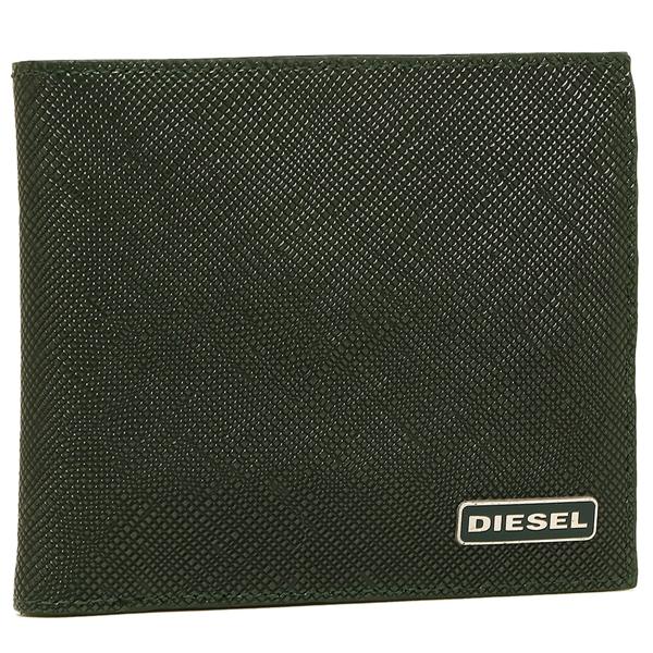 ディーゼル 折財布 DIESEL X03909 P0517 H5429 グリーン