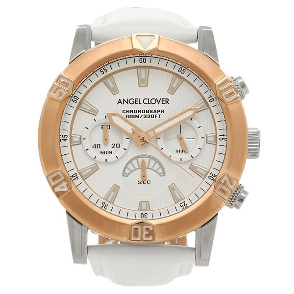 エンジェルクローバー 腕時計 ANGEL CLOVER BR43PWHWH ホワイト ローズゴールド ホワイト