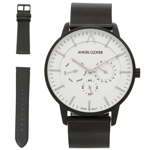 エンジェルクローバー 腕時計 ANGEL CLOVER ZE42BWH ホワイト ブラック