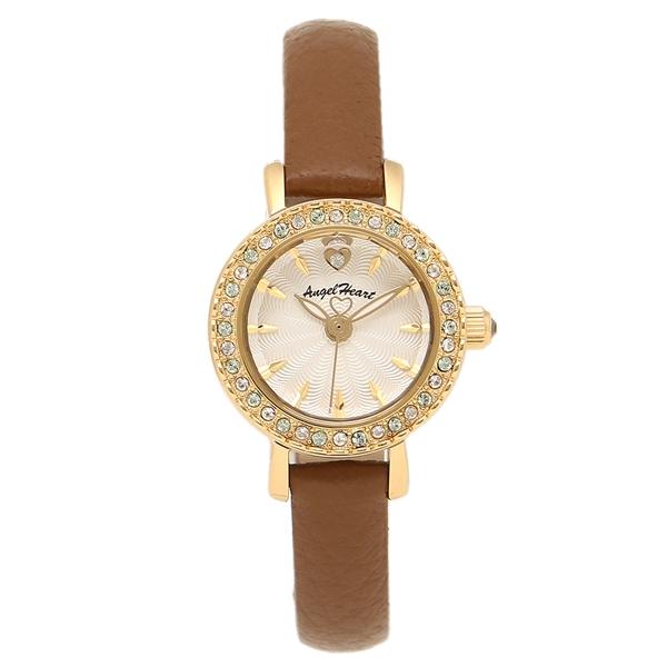 エンジェルハート 腕時計 ANGEL HEART ET21Y-BW ホワイト ゴールド ブラウン