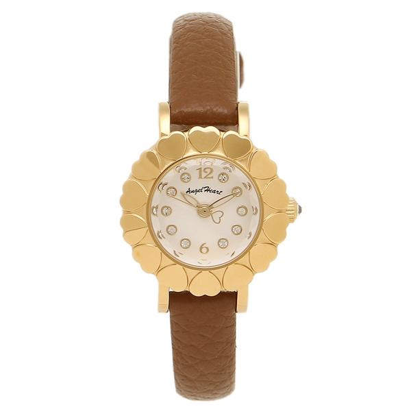 エンジェルハート 腕時計 ANGEL HEART MA23Y-BW ホワイト ゴールド ブラウン
