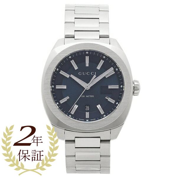 グッチ 腕時計 レディース GUCCI YA142303 ネイビー シルバー