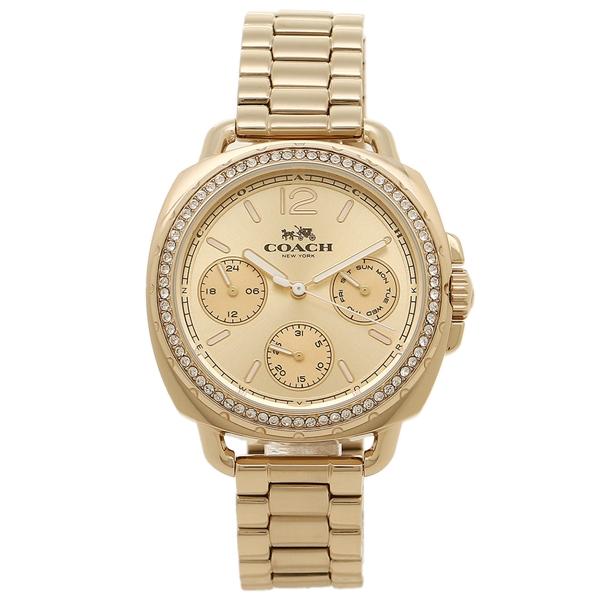COACH コーチ 腕時計 レディース 14502570 イエローゴールド