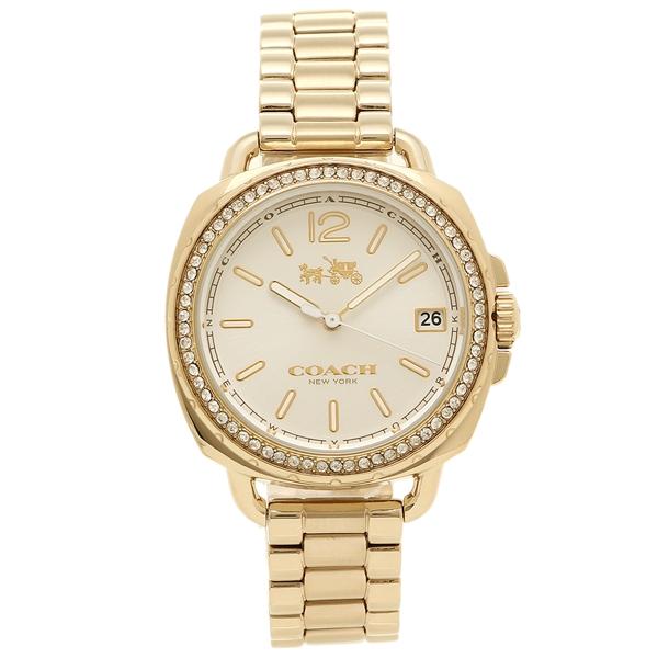 COACH コーチ 腕時計 レディース 14502589 イエローゴールド