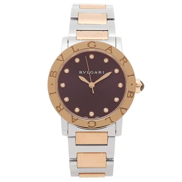 ブルガリ 腕時計 レディース BVLGARI BBL33C7SPG 12 パープル ローズゴールド シルバー