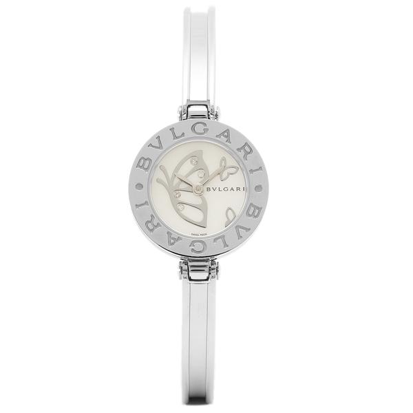 BVLGARI 腕時計 レディース ブルガリ BZ22BDSS M ホワイト シルバー