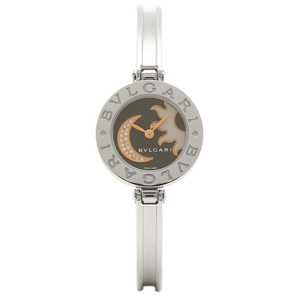 BVLGARI 腕時計 レディース ブルガリ BZ22BSMDSS S ブラックマルチ シルバー