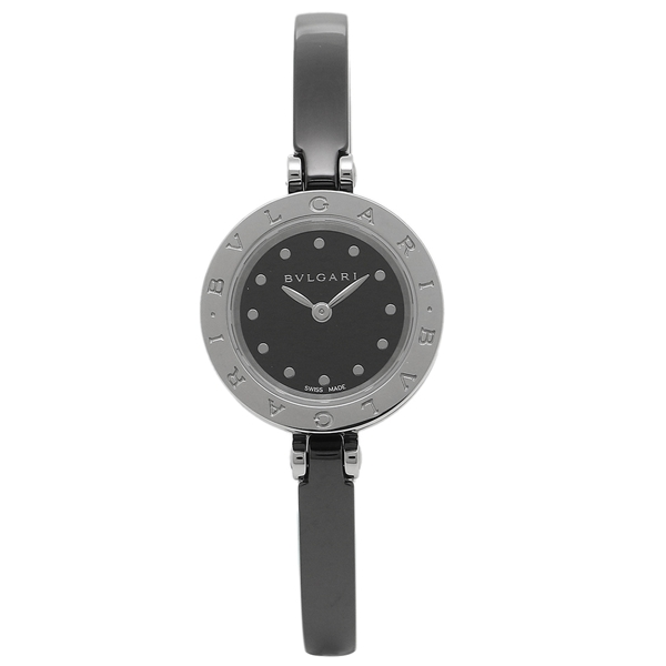 ブルガリ 腕時計 レディース BVLGARI BZ23BSCC M ブラック シルバー