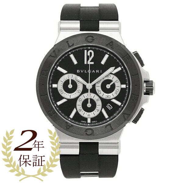 ブルガリ 腕時計 メンズ BVLGARI DG42BSCVDCH ☆送料無料☆ 購買 当日発送可能 ブラック シルバー