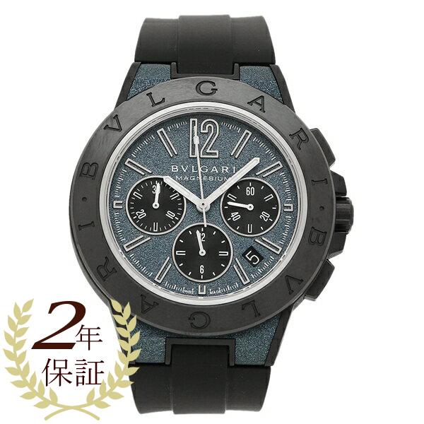 ブルガリ 腕時計 メンズ BVLGARI DG42C3SMCVDCH ブルー ブラック